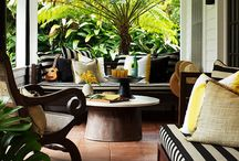 Tropical Style / Island living is perfect for an easy, breezy style in your home.