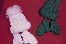 Christmas crochet & knit patterns