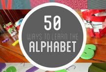 ~Classroom Alphabet activities