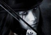 Gothic man - make up