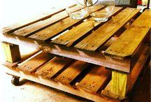 Used pallet DIY