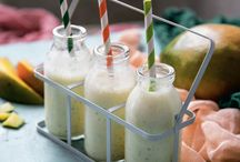 Smoothie γιαούρτι με μέλι, μάνγκο και δυόσμο / Ένα smoothie που θα σας κρατήσει χορτάτους για πολλή ώρα