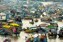 Travel: Mekong Delta / See our tour in http://vietfuntravel.com/mekong-delta-tours