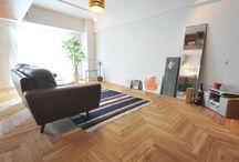 こだわりのフローリング/Wooden floor