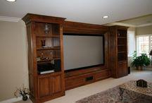 Entertainment Cabinets Warren NJ