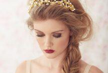 All about Brides / Inspiración para mis Novias, make up, peinados, tocados, decoración, etc...