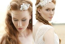 Gold Headpieces and Accessoires / Beautiful gold Headpieces for your perfect wedding  #headpiece #tocados #boda #novia #bridalcouture #altacostura