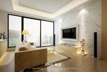 新中式 oriental/hk designs / by Kitty Kwan