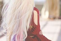 Colourful hair / Χρώματα παστελ