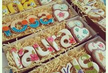Печенье буквы