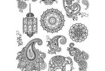 Wzory do decoupagu