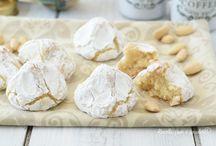 Biscotti di pasta  frolla alle mandorle/nocciole