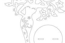 дерево женщина