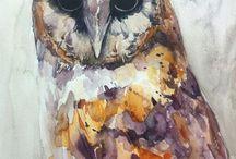 OWL...Beğendiklerim / baykuş ağırlıklı :)