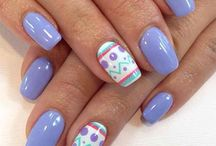 Easter Mani Ideas / Easter nail art manicures
