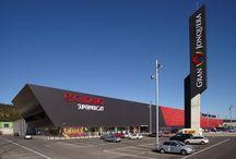 Centro Comercial Gran Jonquera / Centro Comercial   #centrocomercial #jonquera @cclajonquera #octaviomestre #lajonquera   #arquitectura  #octaviomestre #om_arquitectos #commercial #centre #spain