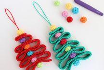 編み物 ツリー