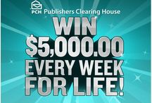 Publisher clearing  house is real Ii am a two timer winer / by Andrea Schaller Zarzycki