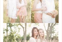 Photoshoot Moms and daughters