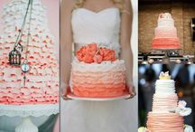 Wedding Cakes | Ruffled and Ombre / amazing wedding cakes