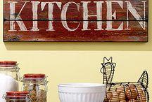 Кухонные знаки