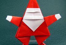 Christmas origami.