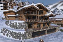 Images 3D - Les Fermes de la Delege Chalet C in Crans-Montana / Images 3D - Les Fermes de la Delege Chalet C in Crans-Montana