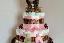 country baby girl shower