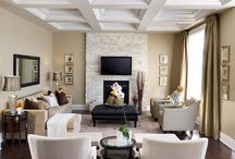 Living and Family Rooms / Today's living room has become smaller and more formal, while the family room has become the place for family and friends, to gather for entertainment and media.