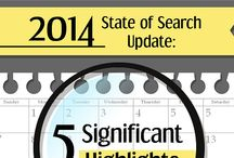 SEO - Infographics / data about search engine optimization at a glance / by SuperFastBusiness