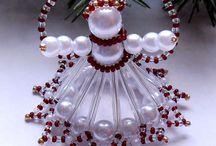 aniolki z koralikow