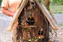 malé domečky