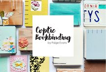 Coptic Bookbinding by Paige Evans / by Paige Evans