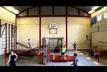 Gym bovenbouw