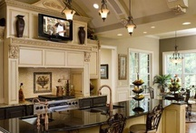 Kitchen / Luxury kitchen design ideas with industrial, rustic, and steampunk inspired spaces.