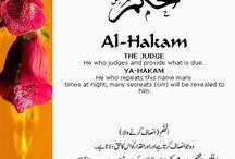 dua with Allah names
