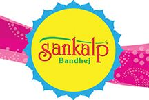 Sankalp Bandhej / Illustrative project was done for ethnic wear 'bandhani' to communicate their new service among their customer. We used very colorful series of illustrations as visuals for their campaign which went very popular among the people.