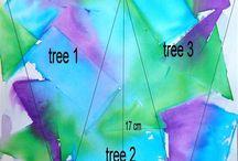 Silkkipaperityöt / Tissue paper