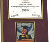 Graduation Time / Kindergarten, High School, College if you get a piece of paper you worked for it now it's time to show it off.  Here is how to frame your diploma.