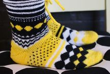 Knitted socks and mittens / Knitted socks and mittens