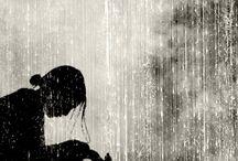 rain / .