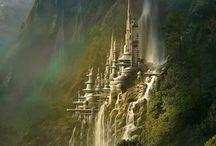 Waterval kasteel Polen