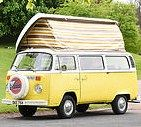 Blondie 1979 VW T2 / Meet our youngest family member, she seats and sleeps five people. A VW Camper for hire in Scotland from Vintage VW Campers. Self-drive adventure tours of Scotland.