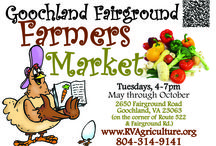 Goochland Fairground Farmers Market / Homegrown, handmade, homemade...you'll find it all at the Goochland Fairground Farmers Market!