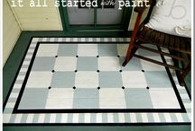 it started with MY DIY: PORCH / by Linda @ it all started with paint blog