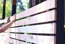 Beach house fence