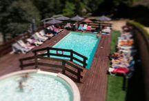 Caima Resort - pool and bar / Espaço de lazer em plena natureza