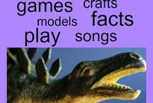 Dinosaurs & volcanos / by Allyson Cuskelly