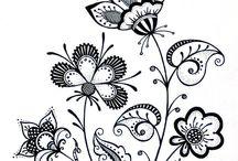 BEATIFUL DOODLE FLOWERS