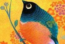 ART paintings birds